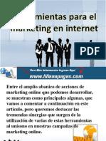 Herramientas Para El Marketing en Internet