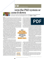 Nature Magazin 04.21 PhD