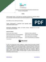 1.4 Informe España