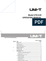UT81AB Eng Manual