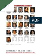 Gabinete de Ministros de Bolivia 2011