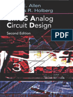 CMOS Analog Circuit Design Holberg