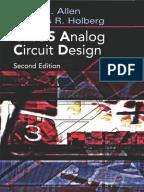 Microelectronic Circuits 5th Sedra Smith