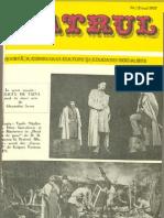 Revista Teatrul, nr. 5 anul XXII, mai 1977