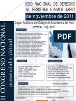 CONGRESO NACIONAL DE DERECHO NOTARIAL REGISTRAL E INMOBILIARIO