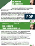 Slides PD Italiani Nel Mondo46167