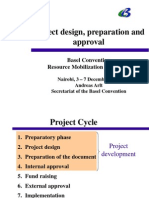 Project Design, Preparation & Approval