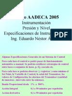 Apunte Instrumentacion Presion y Nivel AADECA