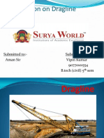 Presentation on Dragline NEW