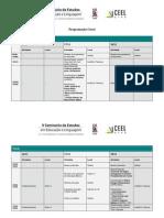 Programação Geral - V Seminário de Estudos em Educação e Linguagem