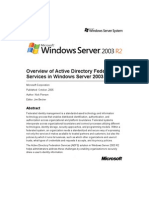 ADFS Overview