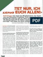 Interview Rolf Fringer