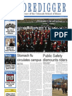 The Oredigger Issue 9 - November 7, 2011