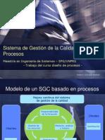 Modelo de un Sistema de Gestión de la Calidad basado en Procesos