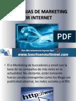 Estrategias de Marketing Por Internet