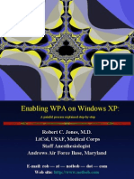 Enabling WPA on Windows XP