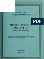 USSBS Report 32, Mitaka Aircraft Industries