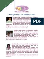 Mensajes Luis Alberto Rosales