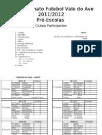 Calend Pre-escolas ( Sub-8) 11-12