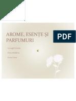 AROME, ESENTE, PARFUMURI