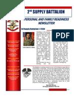 2nd Supply Battalion November Family Readiness Newsletter