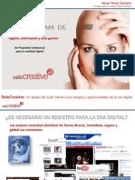 Presentación de Safe Creative en la Jornada sobre los ilustradores en la era digital