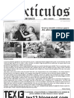 Jornal Textículos Ano I - Edição I Novembro-2011