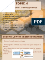 Thermodynamics - Chapter 4