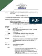 Mark 3d Resume