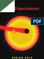The Experiment - Spring 2012 Catalog