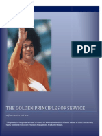 The Golden Principles of Service