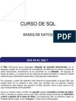 Curso de SQL
