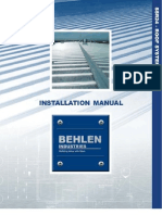 COM-BLD SSR24 Installation Manual