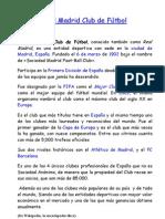 20903243 Lectura Comprensiva El Real Madrid