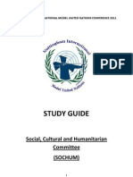 SOCHUM Study Guide