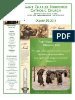 October 30, 2011 Bulletin