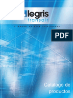 Spanish Transair Aluminum Pipe Product Catalog