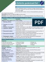 Rheumatoid Arthritis Pc Set DMARD.120109