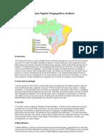 Principais Regiões Fitogeográficas do Brasil