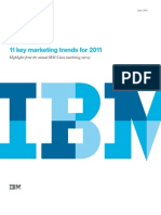 11 Key Marketing Trends for 2011