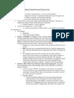 Outline Criminal Procedure Professor Jones