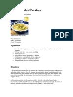 4 Diffirent Recipes