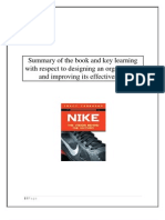 NIKE Book Review by Vinod Gandhi International Management Institute, IMI Delhi