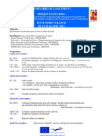 Leonardo Programme -IUFM Niort, France