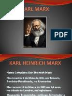 Trabalho Karl Marx Slides