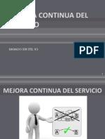 5. Mejora Continua Del Servicio