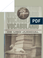 Vocabulario de Uso Judicial - Gaceta Juridica