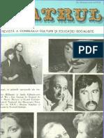 Revista Teatrul, nr. 9, anul XXIII, septembrie 1978