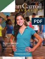 John Carroll University Magazine Fall 2009