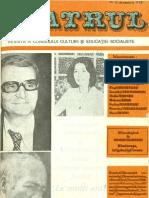 Revista Teatrul, nr. 12, anul XXIII, decembrie 1978